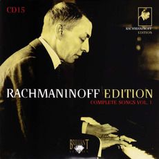 Rachmaninoff Edition, CD15 mp3 Artist Compilation by Sergei Rachmaninoff
