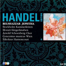 Handel Edition: Belshazzar, Jephtha by George Frideric Handel