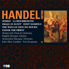 Handel Edition: Semele, Israel In Egypt, Dixit Dominus by George Frideric Handel
