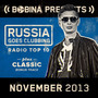 Bobina pres. Russia Goes Clubbing Radio Top 10: November 2013