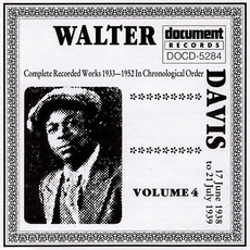 Complete Recorded Works, Vol. 4: (1938-1939) by Walter Davis