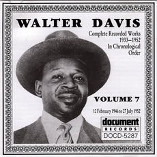 Complete Recorded Works, Vol. 7: (1946-1952) by Walter Davis