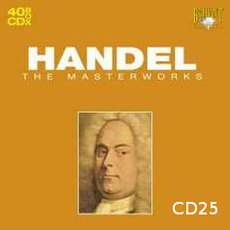 Handel: The Masterworks, CD25 mp3 Artist Compilation by George Frideric Handel