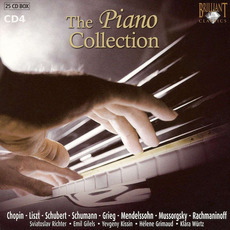 The Piano Collection, CD4 mp3 Artist Compilation by Johannes Brahms