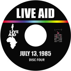 Live Aid: The Global Jukebox, CD4 mp3 Compilation by Various Artists