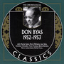 The Chronological Classics: Don Byas 1952-1953