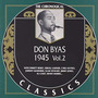 The Chronological Classics: Don Byas 1945, Volume 2