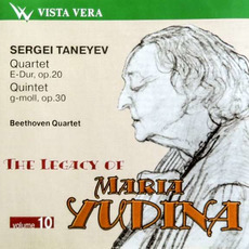The Legacy of Maria Yudina, Volume 10 mp3 Artist Compilation by Sergei Taneyev