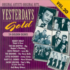 Yesterdays Gold: 24 Golden Oldies, Vol.20 by Various Artists