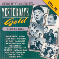Yesterdays Gold: 24 Golden Oldies, Vol.19 by Various Artists