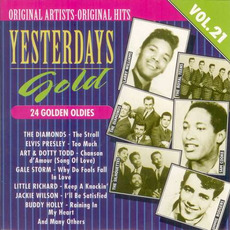 Yesterdays Gold: 24 Golden Oldies, Vol.21 by Various Artists