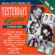Yesterdays Gold: 24 Golden Oldies, Vol.14 mp3 Compilation by Various Artists