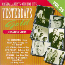 Yesterdays Gold: 24 Golden Oldies, Vol.25 by Various Artists