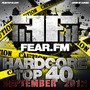 Fear.FM Hardcore Top 40 September 2012