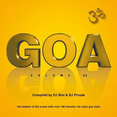 GOA, Volume 55 mp3 Compilation by Various Artists