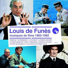Louis de Funès : Musiques de films 1963-1982 mp3 Compilation by Various Artists