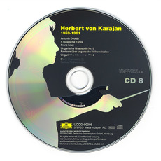 Herbert von Karajan: Complete Recordings on Deutsche Grammophon, CD8 mp3 Compilation by Various Artists