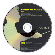 Herbert von Karajan: Complete Recordings on Deutsche Grammophon, CD223 mp3 Artist Compilation by Ludwig Van Beethoven