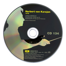 Herbert von Karajan: Complete Recordings on Deutsche Grammophon, CD134 mp3 Artist Compilation by Ludwig Van Beethoven