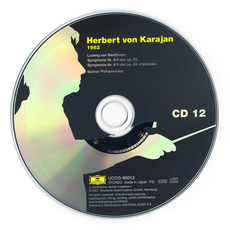 Herbert von Karajan: Complete Recordings on Deutsche Grammophon, CD12 mp3 Artist Compilation by Ludwig Van Beethoven