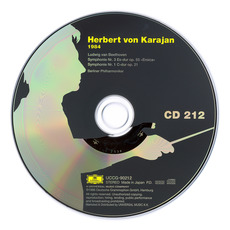 Herbert von Karajan: Complete Recordings on Deutsche Grammophon, CD212 mp3 Artist Compilation by Ludwig Van Beethoven