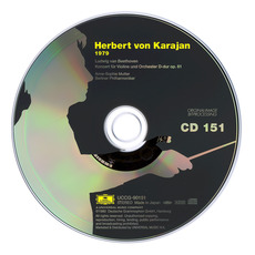 Herbert von Karajan: Complete Recordings on Deutsche Grammophon, CD151 mp3 Artist Compilation by Ludwig Van Beethoven