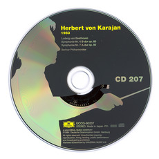 Herbert von Karajan: Complete Recordings on Deutsche Grammophon, CD207 mp3 Artist Compilation by Ludwig Van Beethoven