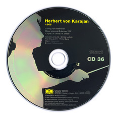 Herbert von Karajan: Complete Recordings on Deutsche Grammophon, CD36 mp3 Artist Compilation by Ludwig Van Beethoven