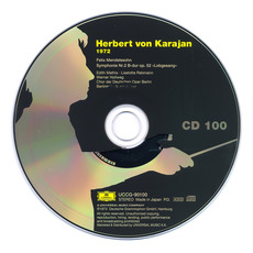 Herbert von Karajan: Complete Recordings on Deutsche Grammophon, CD100 mp3 Artist Compilation by Felix Mendelssohn
