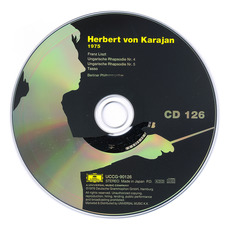 Herbert von Karajan: Complete Recordings on Deutsche Grammophon, CD126 mp3 Artist Compilation by Franz Liszt