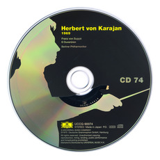 Herbert von Karajan: Complete Recordings on Deutsche Grammophon, CD74 mp3 Artist Compilation by Franz Von Suppé