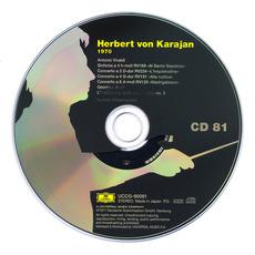 Herbert von Karajan: Complete Recordings on Deutsche Grammophon, CD81 mp3 Artist Compilation by Antonio Vivaldi