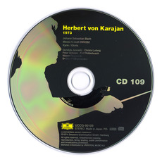Herbert von Karajan: Complete Recordings on Deutsche Grammophon, CD109 mp3 Artist Compilation by Johann Sebastian Bach