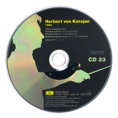 Herbert von Karajan: Complete Recordings on Deutsche Grammophon, CD23 mp3 Artist Compilation by Johann Sebastian Bach