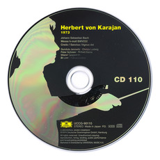 Herbert von Karajan: Complete Recordings on Deutsche Grammophon, CD110 mp3 Artist Compilation by Johann Sebastian Bach
