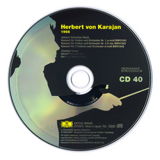 Herbert von Karajan: Complete Recordings on Deutsche Grammophon, CD40 mp3 Artist Compilation by Johann Sebastian Bach