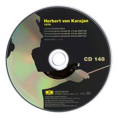 Herbert von Karajan: Complete Recordings on Deutsche Grammophon, CD148 mp3 Artist Compilation by Johann Sebastian Bach