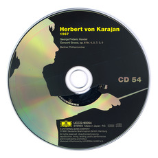 Herbert von Karajan: Complete Recordings on Deutsche Grammophon, CD54 mp3 Artist Compilation by George Frideric Handel