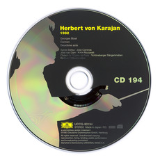 Herbert von Karajan: Complete Recordings on Deutsche Grammophon, CD194 mp3 Artist Compilation by Georges Bizet