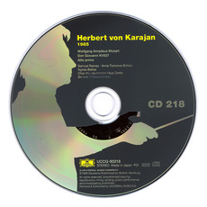 Herbert von Karajan: Complete Recordings on Deutsche Grammophon, CD218 mp3 Artist Compilation by Wolfgang Amadeus Mozart