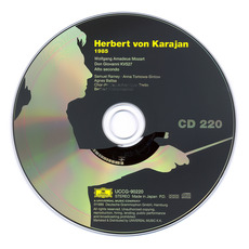 Herbert von Karajan: Complete Recordings on Deutsche Grammophon, CD220 mp3 Artist Compilation by Wolfgang Amadeus Mozart