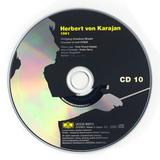 Herbert von Karajan: Complete Recordings on Deutsche Grammophon, CD10 mp3 Artist Compilation by Wolfgang Amadeus Mozart