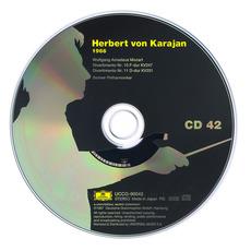 Herbert von Karajan: Complete Recordings on Deutsche Grammophon, CD42 mp3 Artist Compilation by Wolfgang Amadeus Mozart