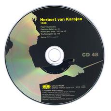 Herbert von Karajan: Complete Recordings on Deutsche Grammophon, CD48 mp3 Artist Compilation by Peter Tchaikovsky
