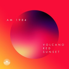 Volcano Red Sunset by AM 1984