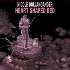 Heart Shaped Bed by Nicole Dollanganger