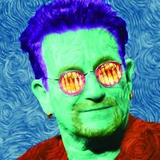 An Oil Panting of Bono That Resembles Stevie Wonder