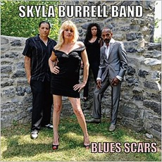 Blues Scars mp3 Album by Skyla Burrell Band