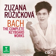 Zuzana Růžičková: Bach - The Complete Keyboard Works, CD2 mp3 Artist Compilation by Johann Sebastian Bach