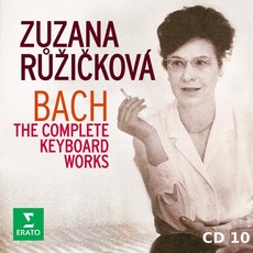 Zuzana Růžičková: Bach - The Complete Keyboard Works, CD10 mp3 Artist Compilation by Johann Sebastian Bach